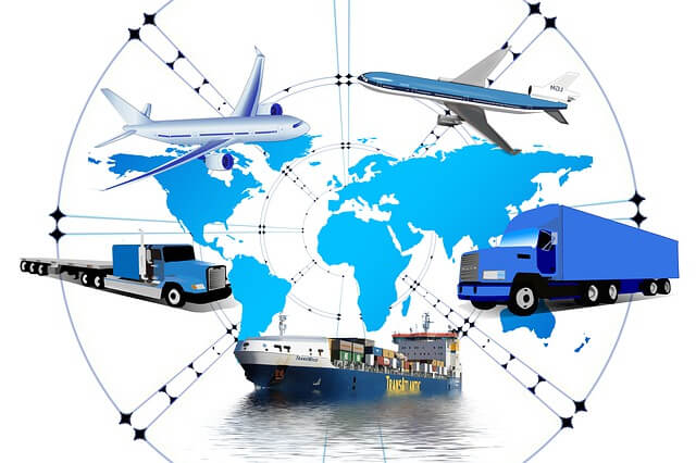 Vision de empresa de transporte